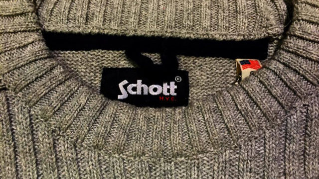 Schott NYC Pullover wolle
