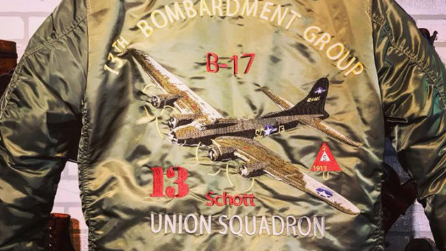 13th Bombardment Group MA-1 Jacket